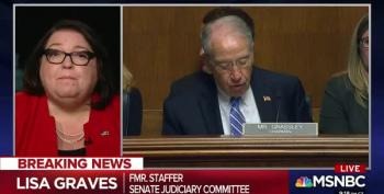 Lisa Graves Destroys Grassley's Excuses For Ducking FBI Kavanaugh Investigation