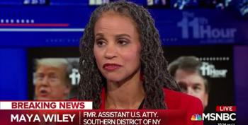 Watch Maya Wiley Destroy Mark Judge's Letter In Under 60 Seconds