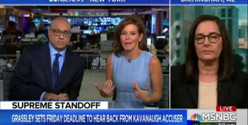 Stephanie Ruhle Finds Kavanaugh Case 'Complicated' Because Of 'Kids Being Kids'