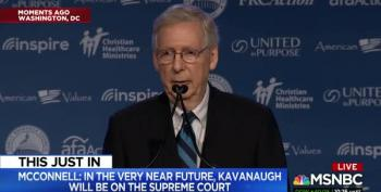 McConnell Promises Values Voter Summit Kavanaugh Will Be Confirmed