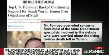 All In:  Mike Pompeo Prefers Arms Sales To Civilian Lives In Yemen