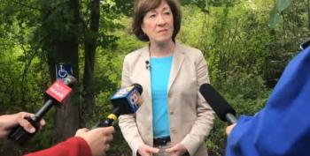 'Completely Inappropriate And Wrong': Susan Collins Blasts Trump's Tweet