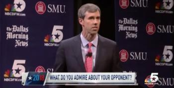 'True To Form': Beto O'Rourke Takes The High Road; Cruz Throws Slime