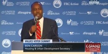 Ben Carson's Weird Justification For Refusing A DNA Test To Verify A Paternity Claim