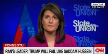 Nikki Haley: 'The United States Is Not Looking To Do Regime Change In Iran'