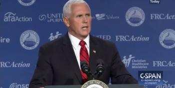 Mike Pence Attacks Democrats As Being A 'Disgrace And A Disservice To The Senate' Over Kavanaugh Hearings