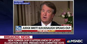 Lawrence O'Donnell Counts Kavanaugh's Trained-Seal Talking Points