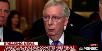 Ari Melber Panel Rips GOP Senators For Hiring 'Assistant' To Question Witnesses