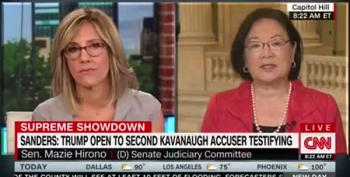 Hirono: I Want To Hear That There's Going To Be An FBI Investigation