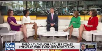 Fox News' Outnumbered Smears Michael Avenatti After Third Sexual Assault Victim Comes Forward