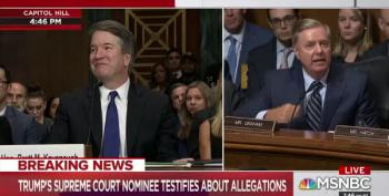 Senator Graham's Head Literally Exploded In Kavanaugh Hearing