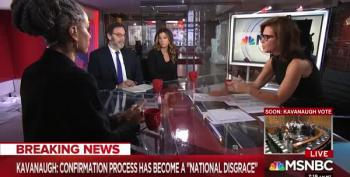 Nearly Entire Panel In Tears On Stephanie Ruhle Discussing Ford's Testimony
