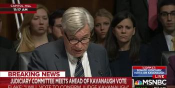 Sen. Whitehouse:  Would Investigator Kavanaugh Accept This Sham For Lewinsky