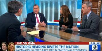 Chris Christie Bullies Sunny Hostin On GMA: 'Don't Interrupt Me!'