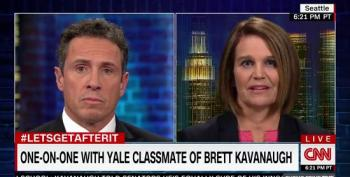 Kavanaugh's Yale Classmate Says He Lied About His Drinking