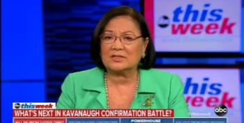 Senator Mazie Hirono Expresses Concern About Kavanaugh's Demeanor