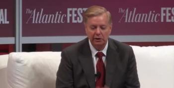 Whiney Lindsey Graham Heckled Over Kavanaugh Comments