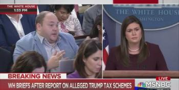 Huckabee Sanders: No Plans To Release Trump's Tax Returns