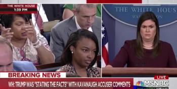 April Ryan Nails Huckabee Sanders On Trump's Central Park 5 Hypocrisy