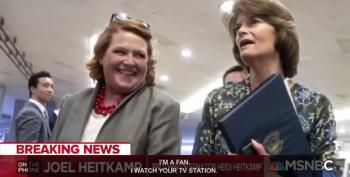Heidi Heitkamp Will Vote No On Kavanaugh, But Don't Count Her Out In November