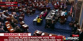 Final Vote For Cloture In Senate - Kavanaugh Nomination Moves Forward