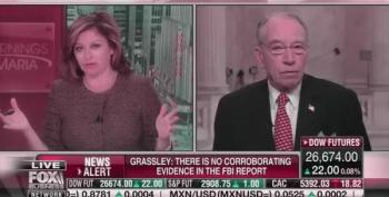 Chuck Grassley's Evidence For Soros 'Funding' Protesters Is 'Manny Peeples'!