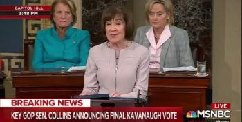 Susan Collins Worries About Extreme Divisions