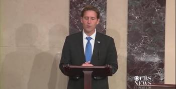 Empty:  Ben Sasse's Speech And The Chamber Where He Gave It