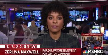 Rick Tyler Speechless After Zerlina Maxwell Speaks Her Truth To Power