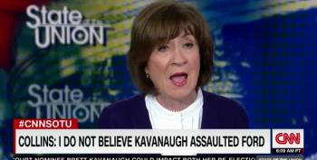 Susan Collins Continues To Gaslight America