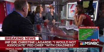Stephanie Ruhle And Christine Quinn Take Apart Trumpster For Defending Trump's Constant Lying