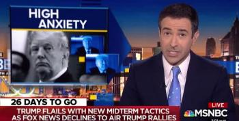 Ari Melber Disses Trump's Aging Band Routine