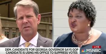 Abrams Campaign Calls For Brian Kemp To Resign As Georgia's Secretary Of State