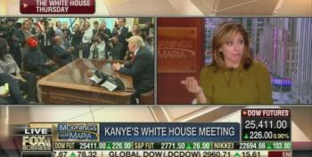 Maria Bartiromo Angrily Brings Up 'The Blue Dress' To Defend Kanye's Profanity