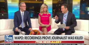 Even Fox And Friends: Trump Can't Let Saudi Arabia Get Away With Murdering A Journalist