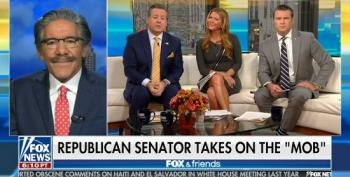 Fox's Rivera: Protester Who Confronted Sen. Cassidy 'Bordering On Child Abuse'