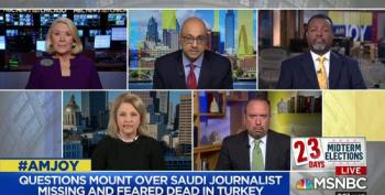 MSNBC Panel Makes Mockery Of Amy Kremer For Claim Trump Never Threatened Journalists