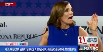 GOP's McSally Makes 'Treason!' Accusation In Unhinged Debate