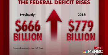 Here Comes The Tidal Wave Of Republican Deficit Crap