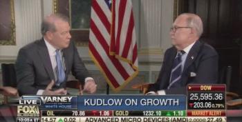 Larry Kudlow Uses 'Confidence Fairy' To Explain Deficit