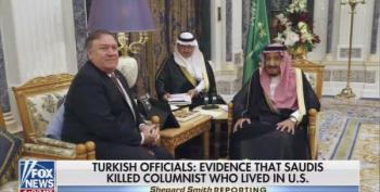 Shep Smith Mocks Pompeo's Saudi Giggles: 'Preposterous!'
