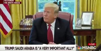 Scarborough Source Told Him Trump Is Lying About Saudi Money