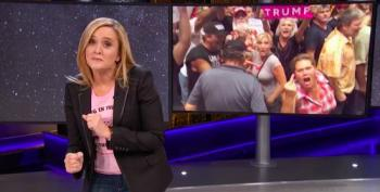 Samantha Bee: 'If Anyone Would Know About The Mob, It's Donald Trump'