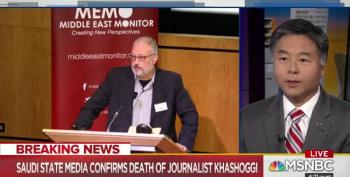 It Was A Fight!: Saudis Settle On Lie About Khashoggi's Death