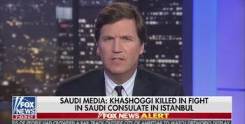 Tucker Carlson: Outrage Over Jamal Kashoggi's Murder Is A Political Stunt