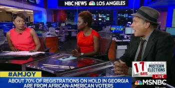 Greg Palast Says He Hasn't Seen Voter Suppression Like This In 18 Years