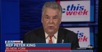 Peter King Asked About Trump And Saudis, So He Attacks Obama