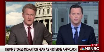 Scarborough: Trump Could Lie About Land Sharks With Lasers In Caravan