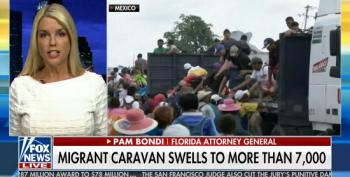 Pam Bondi: Migrants In Caravan Bringing Children 'Shows They're Not Here Peacefully'