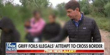 Griff Jenkins Stalks A Migrant Family As They Cross The Border